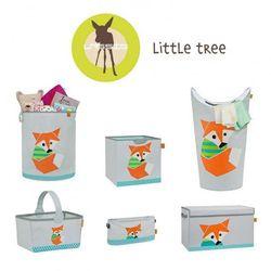 Lassig Kosz na zabawki lub pranie Little Tree Lis