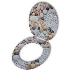 Deska klozetowa, wzór kamieni Zapisz się do naszego Newslettera i odbierz voucher 20 PLN na zakupy w VidaXL!