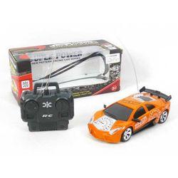 Auto wyścigowe 16cm skala 1:28 na pilota pomarańczowe
