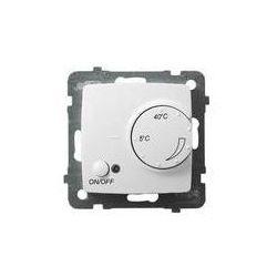 Regulator temperatury z czujnikiem napowietrznym Ospel Karo - Biały - RTP-1SN/m/00