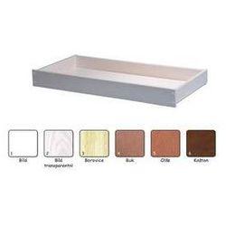 Szuflada pod łóżko For Baby biały/przeźroczysty