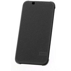 HTC M140 Dot View etui do Desire 620 (szare) - szare