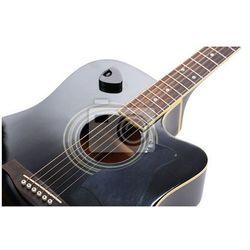 Naklejka Gitara akustyczna na białym