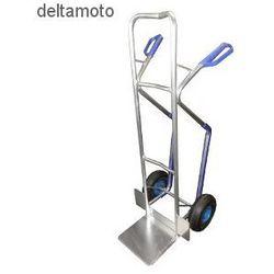 Wózek ręczny dwukołowy, aluminiowy