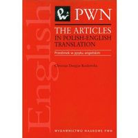 The articles in polish-english translation - Douglas-Kozłowska Christian