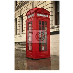 Plakat Budka telefoniczna London klasyczny