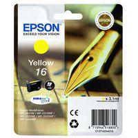 Epson oryginalny ink C13T16244020, T162440, yellow, 3.1ml, Epson WorkForce WF-2540WF, WF-2530WF, WF-2520NF, WF-2010