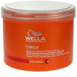 Wella Enrich Moisturising - maska nawilżająca do włosów cienkich 500ml