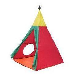 Namiot dla dzieci JOY PARK Namiot JOY PARK 51INDIAN8703 Igloo II - żółto-czerwono-niebieski