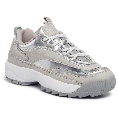 Sneakersy GUESS Kaysie FL8KAE ELE12 SILVE porównaj zanim