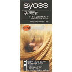 Syoss Farba do włosów 9-1 Bardzo Jasny Blond