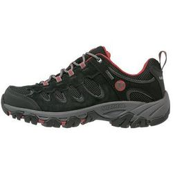 Merrell RIDGEPASS GTX Obuwie hikingowe black/red ochre