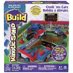Spin Master Kinetic Sand Build Samochody