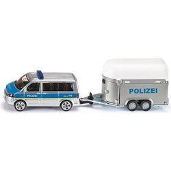 Siku, model Samochód policyjny z przyczepą dla koni