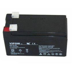 akumulator żelowy AGM Vipow 12V 1,3Ah