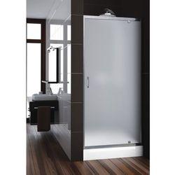AQUAFORM NIGRA Drzwi wnękowe 90, profile chrom, szkło satinato 103-092112