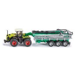 SIKU Traktor Class Xerion z cysterną