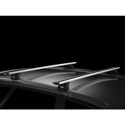 Bagażnik do BMW X5 5d (F15) od 2014- dachowy Thule Wingbar 962, stopy 753, kit 4023