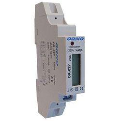 1-fazowy wskaźnik zużycia energii elektrycznej, 40A, wyjście impulsowe ORNO