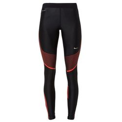 Nike Performance POWER SPEED Legginsy black/light crimson/reflective silver