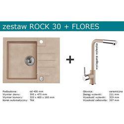 Zestaw ALVEUS ROCK 30 + FLORES (kolor CZARNY)