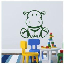 Naklejka welurowa dla dzieci Hipopotam 88