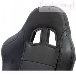 Krzesło biurowe obrotowe RACING w kolorze czarnym
