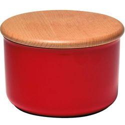 Ceramiczny pojemnik kuchenny 0,5L Emile Henry czerwony