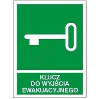 Znak Klucz do wyjścia ewakuacyjnego PF