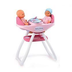 SMOBY Opiekunka Baby Nurse Zestaw 2w1 dla Bliźniąt