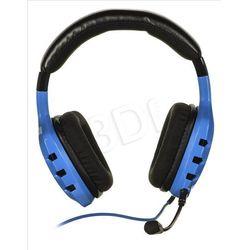Słuchawki z mikrofonem OZONE RAGE ST - niebieskie