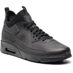 ad8513299081 Buty NIKE - Air Max 90 Ultra Mid Winter 924458 004 Black Black Anthracite