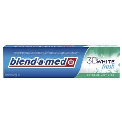 Blend-a-med 3D White Fresh Extreme Mint Kiss, pasta do zębów 100ml