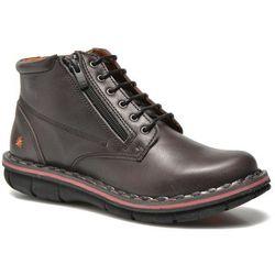 promocje - 10% Buty sznurowane Art Assen 434 Damskie Czarne Dostawa 2 do 3 dni