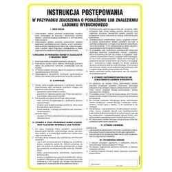 Instrukcja Postępowania w przypadku zgłoszenia o podłożeniu lub znalezieniu ładunku wybuchowego