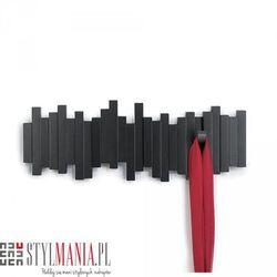 Ozdobny wieszak na ubrania czarny Umbra Sticks 318211-040