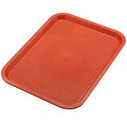 Taca z polipropylenu do serwowania, wym. 35x26,5cm, czerwona