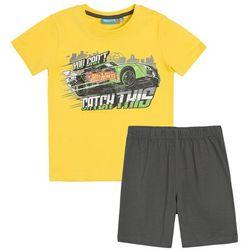Piżama chłopięca z krótkim rękawem, Hot Wheels Darmowa dostawa do sklepów SMYK
