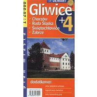 Gliwice plus 4 mapa 1: 20 000 Demart (opr. broszurowa)