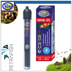 Aqua Nova NHA-250, 250W - Grzałka z termostatem akwariowa