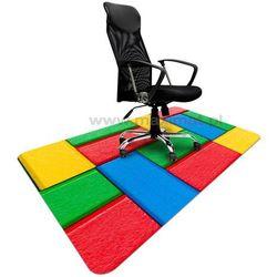 Podkładka ochronna ze wzorem 051 - pod krzesło biurowe - 120x180cm - grubość 1,3mm