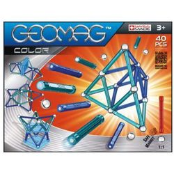 BELUGA Klocki magnetyczne Geomag - Color 40-części