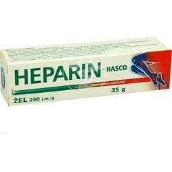 Heparin-Hasco, żel, 35 g