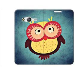 Flex Book Fantastic - Samsung Galaxy Trend 2 Lite - pokrowiec na telefon - sowa