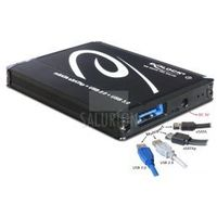 Delock obudowa zewnętrzna MSata-> Multiport USB 3.0+ eSATAp