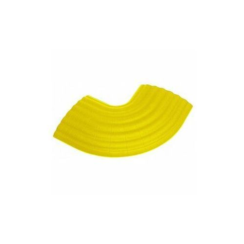 Defender Office C YEL - 90° Curve yellow for 85160 Cable Duct 4-channel, zagięcie mostu kablowego