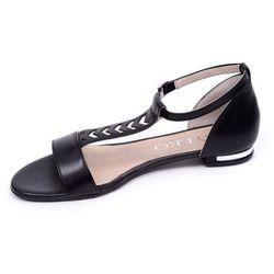 Sandały damskie Ryłko 0AD89T2 czarny 23