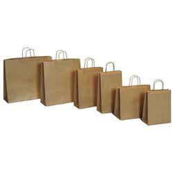 Papierowa torebka Lanex P2/10szt. średnia szara