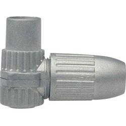 Złącze CKK 4-00 Axing CKK 4-00 Wtykany Wtyczka koaksjalne Przewód, z wolnym końcem Srebrny