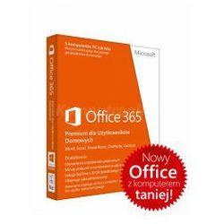 Microsoft Office 365 Home dla Użytkowników Domowych 32/64 Bit PL - licencja na rok - promocja przy zakupie z komputerem lub notebookiem